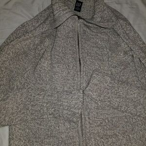 EUC GAP ZIP UP SWEATER SIZE XL